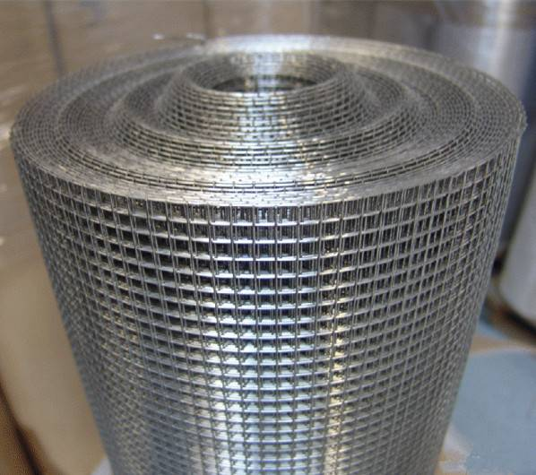 Galvanized /PVC Coated Welded Wire Mesh for Construction