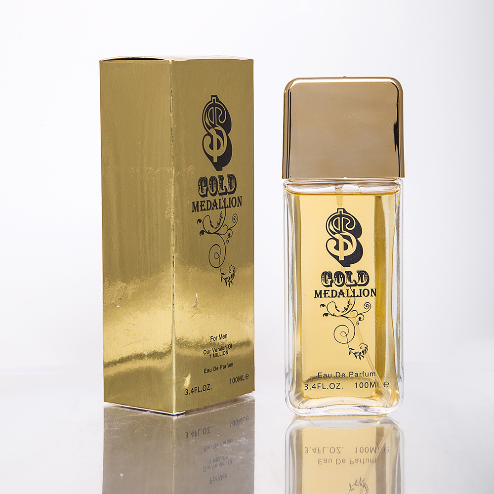 2020 New Lovali Perfume Gold Medallion Parfum Spicy perfume for men 100ml 3.4oz