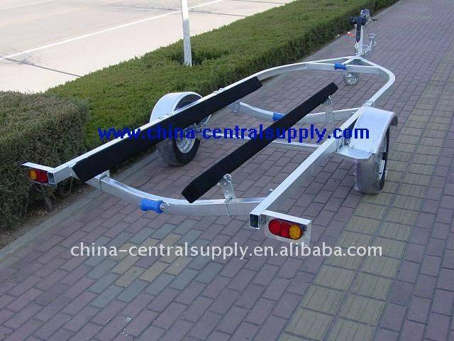 4.7m boat trailer with bunk system