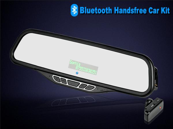 car bluetooth kit with caller English name and ID display