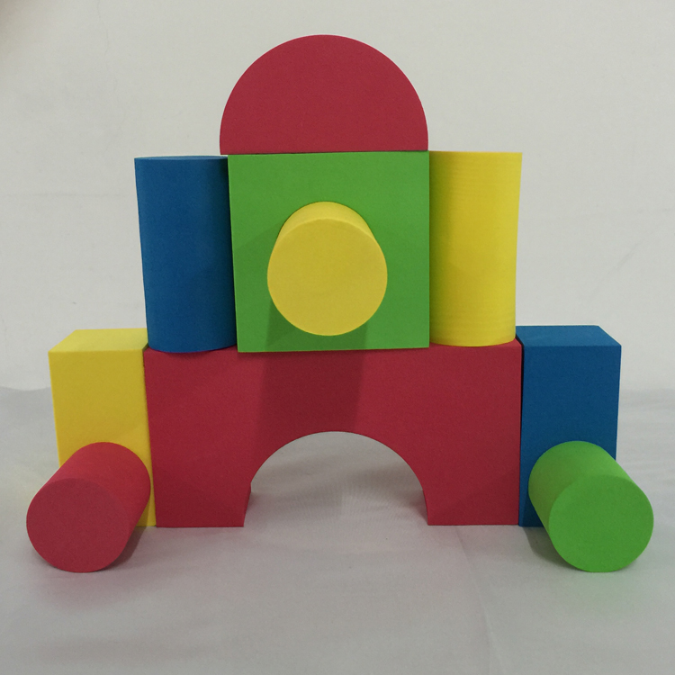 Melors Heavy-duty Child Play Toy EVA Building Block Colorful Toy