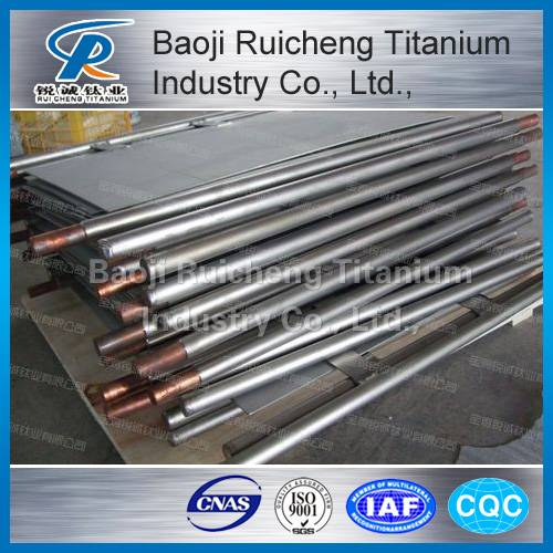 Provide Reliable Electroplating Titanium Anode Bar