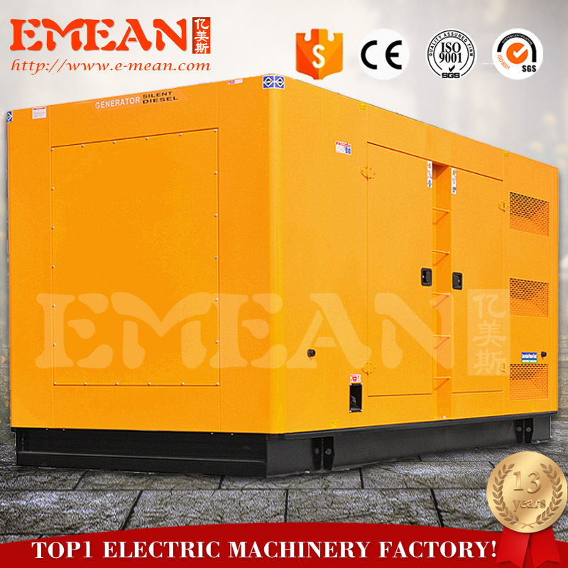 2018 hota sale 100kw silent diesel generator with factory price
