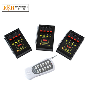 CE passed 12 channels / 12 cues Wireless Remote Control Fireworks Firing System (DB04r-12)