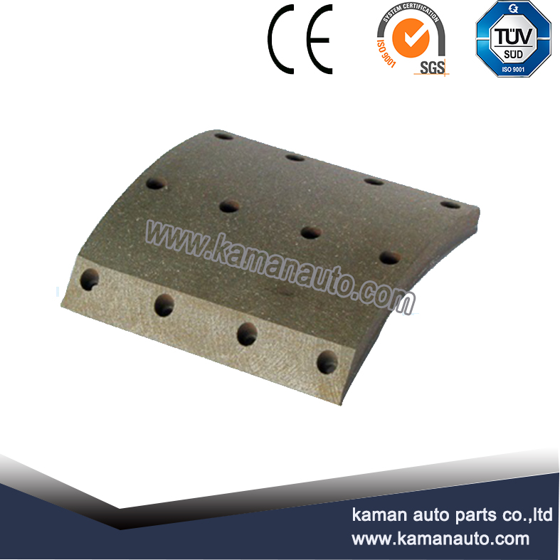 19393 non asbestos ceramic material brake lining for Scania