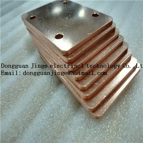 Good quality purple copper bar custom size