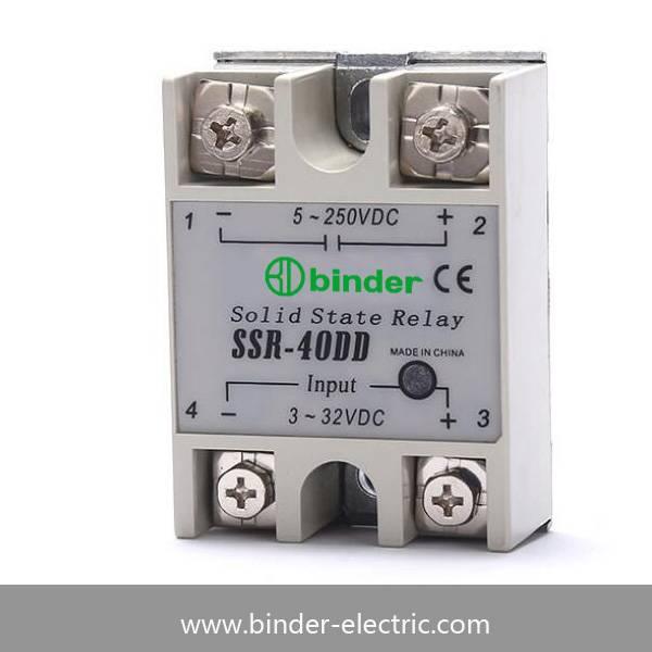 SSR-40DD,SSR-25DD,SSR-10DD Single phase DC to DC solid state relay