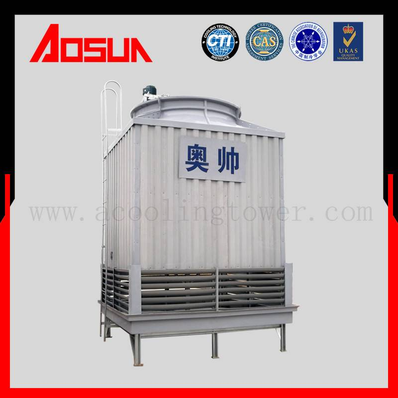 80T Industrial Square Counter Flow Design Of Cooling Tower