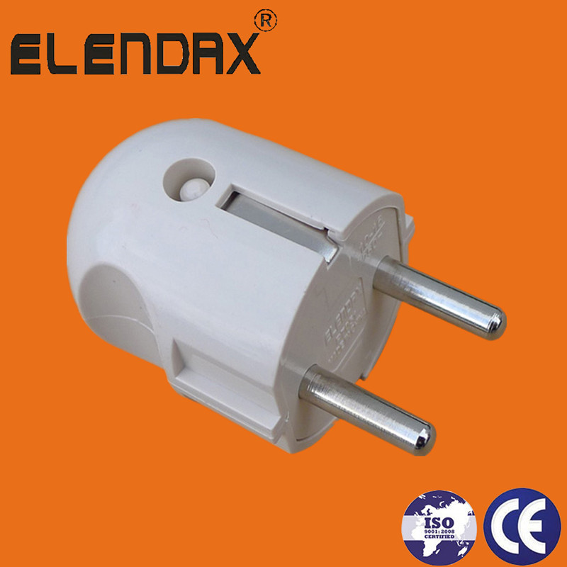 2 Round Pin Electrical Power Plug(P7051)