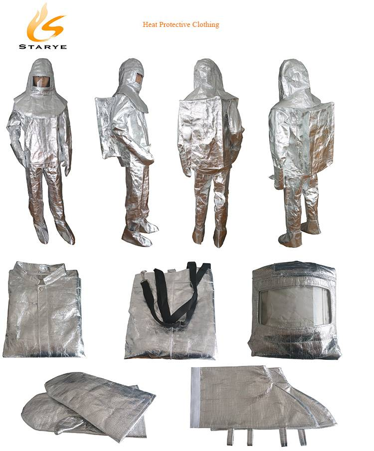 Firefighting Personal Protective Devices Aluminum SCBA Heat Resisting Clothing