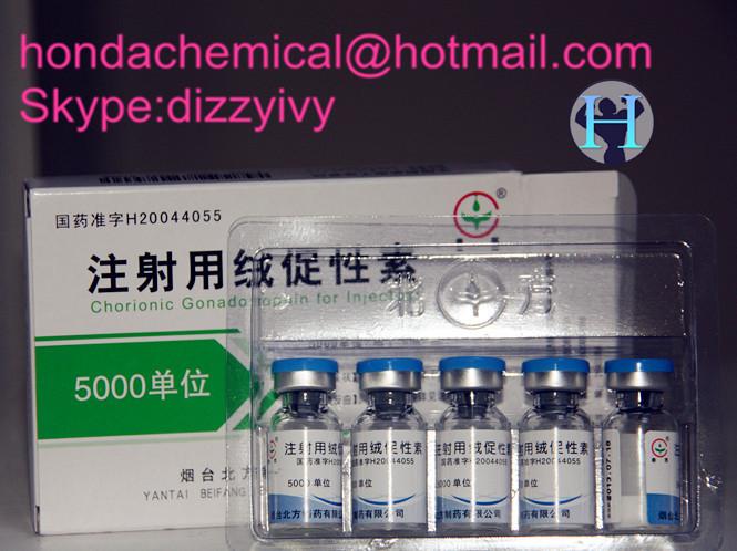 HCG Human Peptides Human Chorionic Gonadotropin 5000iu for Anti aging HCG 5000IU/Vial