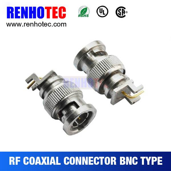 Electrical pin Female auto Connector Socket Waterproof Coaxial BNC Connector