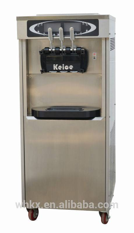 whoesale commercial soft Ice cream yogurt frozen making machine for food and beverage service equipm