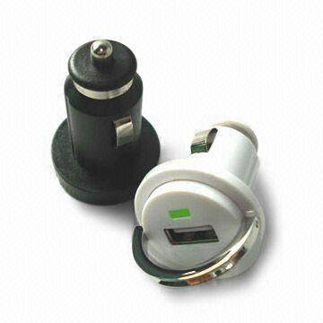 2A Mini USB CAR charger,CAR ADAPTER,AUTO POWER ADAPTER  with pull ring