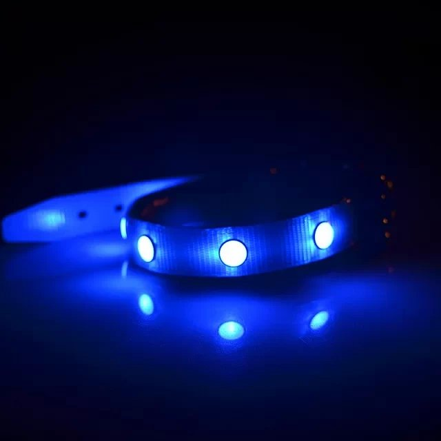 TPU LED comfortable dog collar