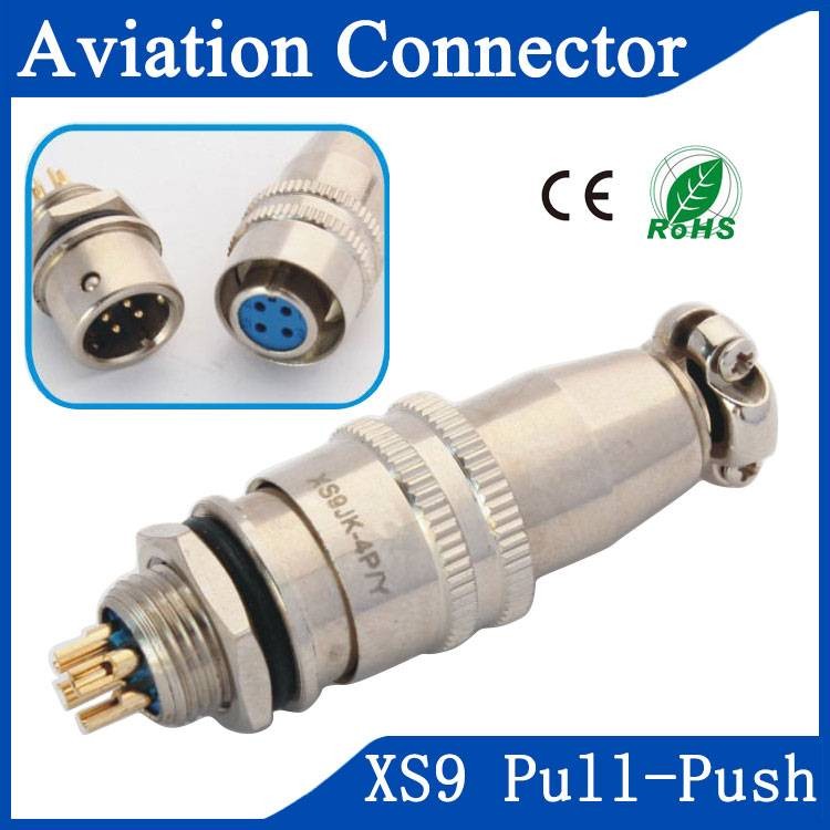 XS9 aviation servo impute connector