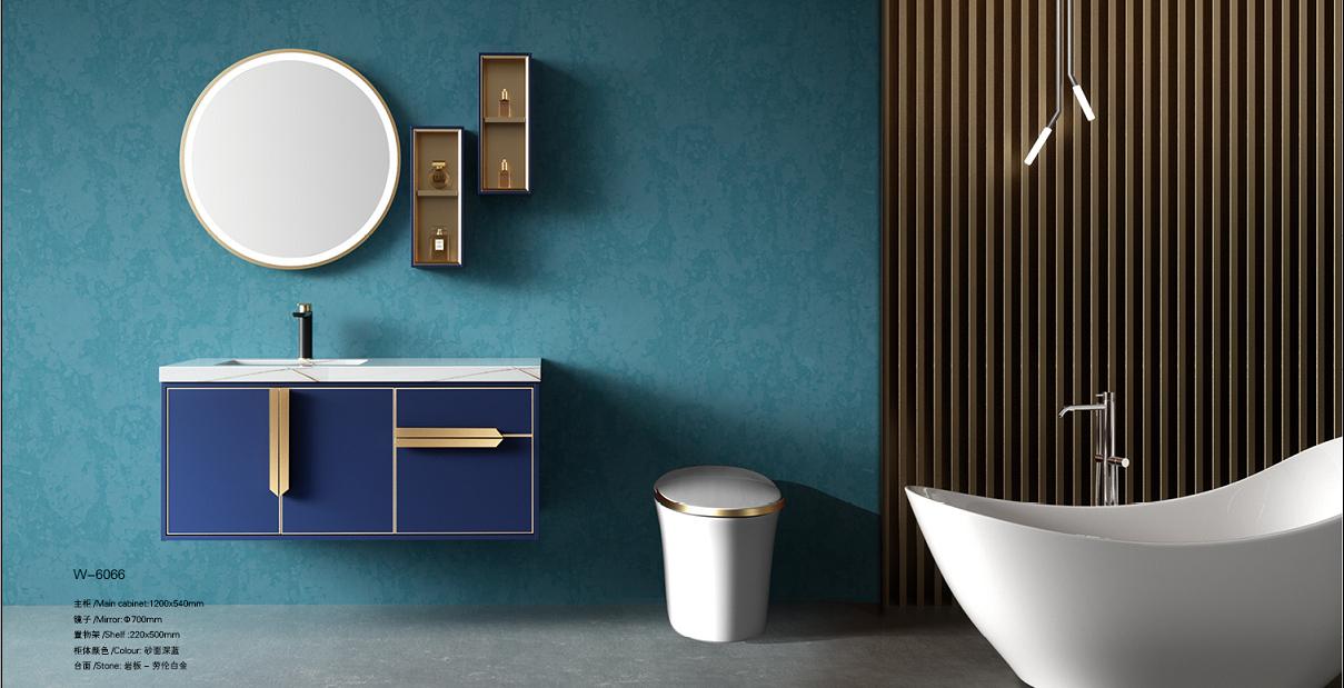 Exquisite Design Stainless Steel Bathroom Vanity Bathroom Cabinet Combo