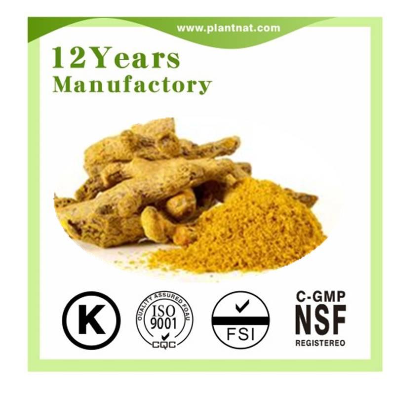 herbal extract  Curcumin 98%
