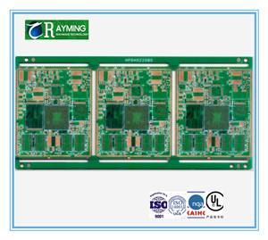 OEM length,thickness HASL surface green soldermask led pcb