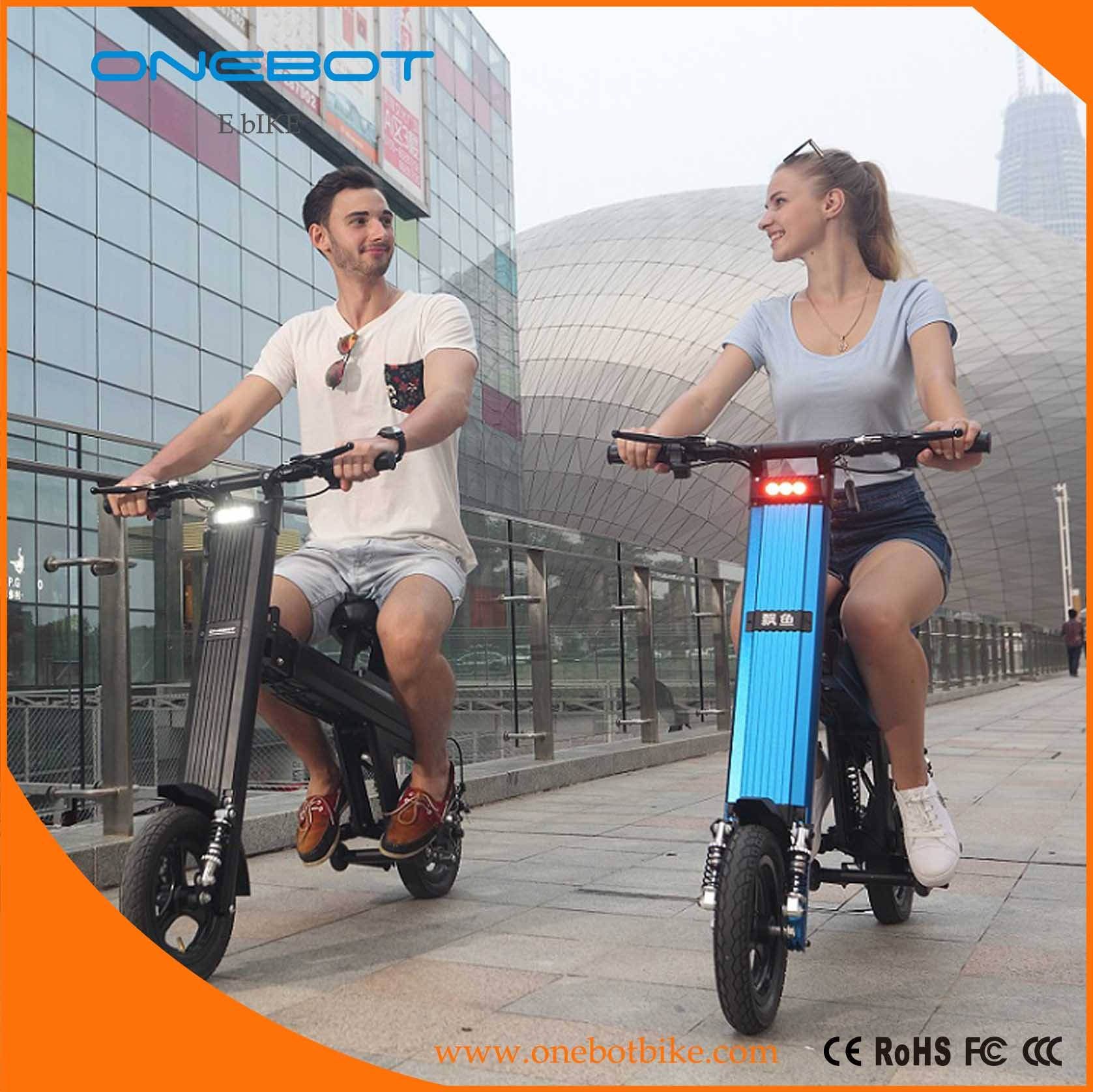 ONEBOT T8 250W 500W dual battery foldable electric bike
