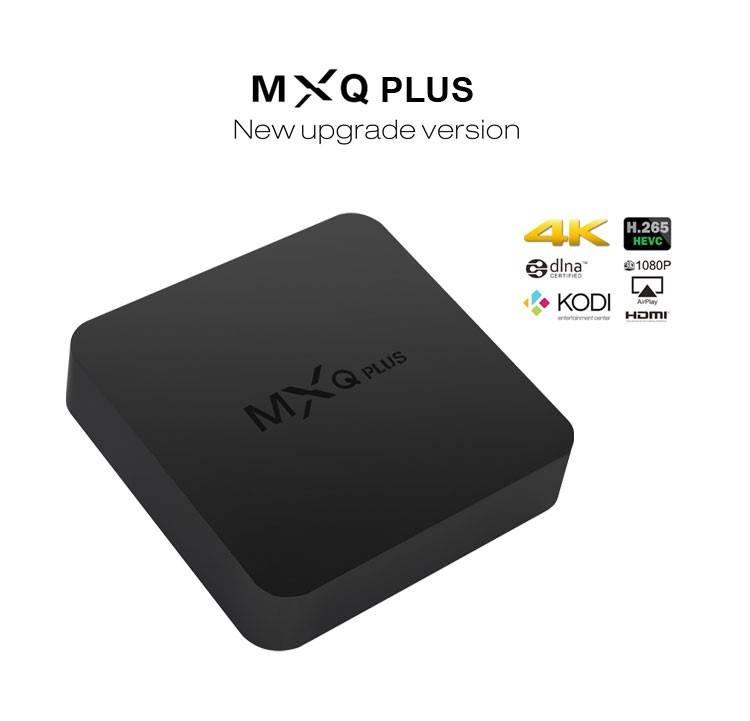 MXQ PLUS 4K amlogic s905 quad core tv box with 4 usb ports Quad Core TV Box