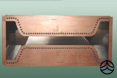copper mould tube/plate for continuous casting