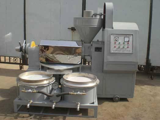 Hot Oil Press Machine