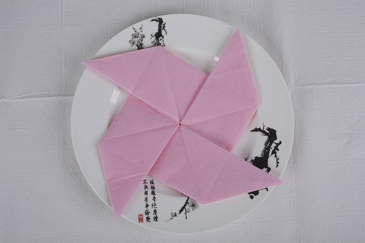 Manufacturer for colorful paper napkin