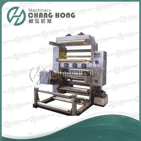 CH802-1400 2 Color Film Flexographic Printing Machine
