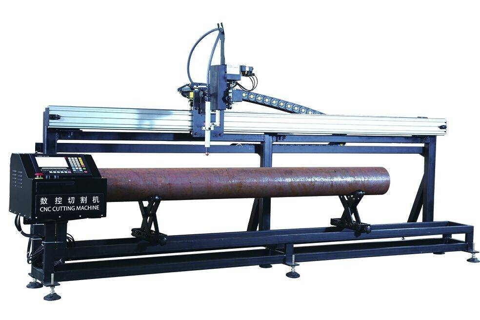 cnc round pipe cutting machine