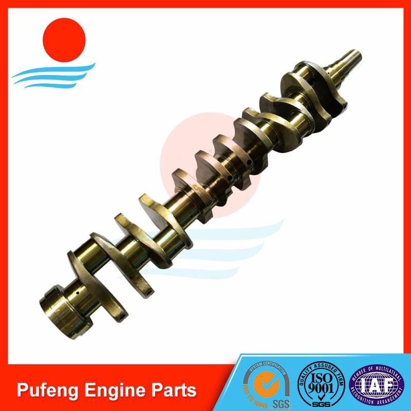 KOMATSU 6D155 crankshaft 6127-31-1114 6127-31-1012 6127-31-1011 6127-31-1010 for bulldozer D155A-1