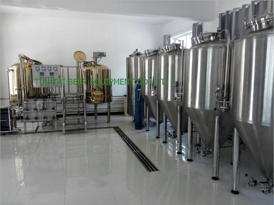 2000L beer brewing equipment for craft beer
