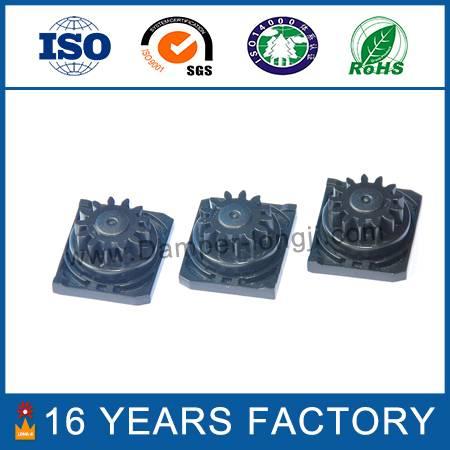 Small rotary gear damper for auto parts