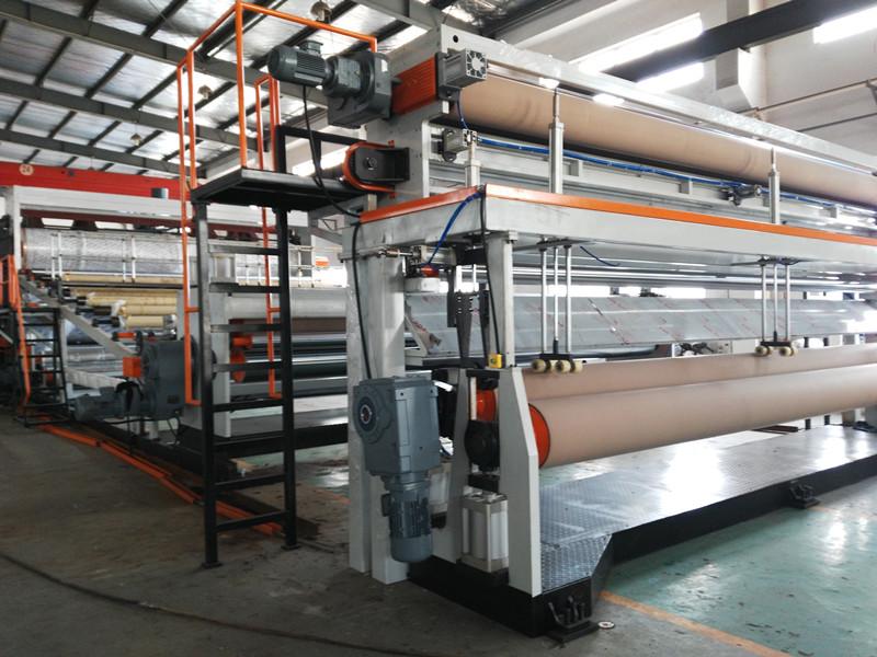PVC/PE/TPO Waterproof Extrusion Line
