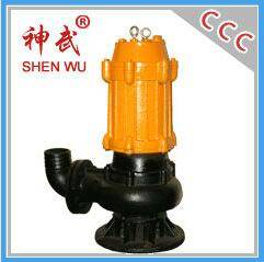 QW series submersible sewage pump, 380v submersible water pump