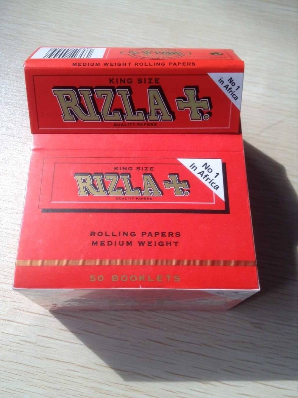 South Africa No.1 gummed RIZLA paper