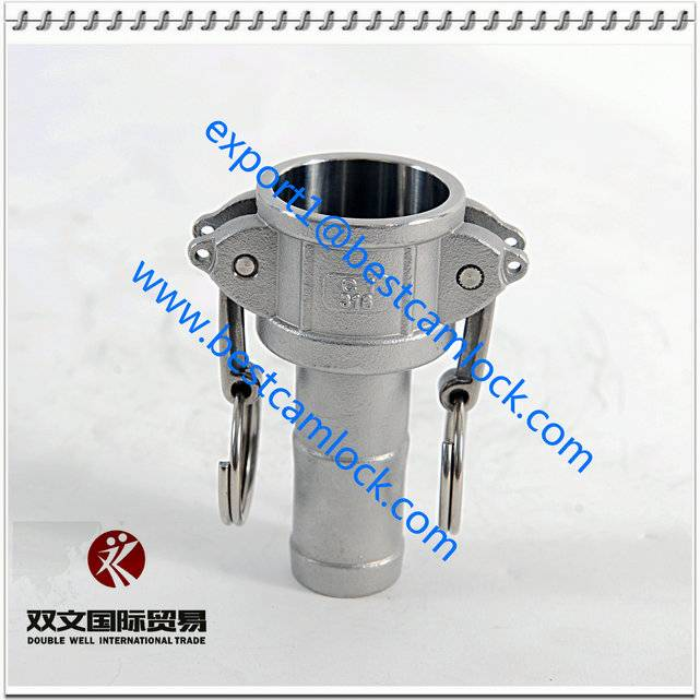 China SUPPLY Stainless Steel DIN2828 Camlock coupling Type  C