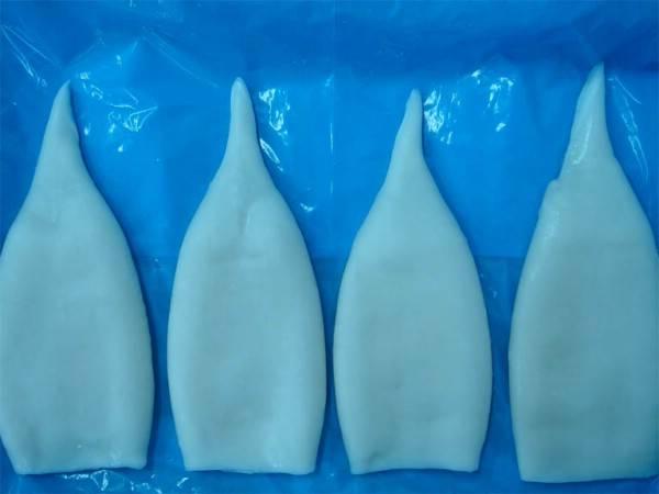 IQF squid tubes