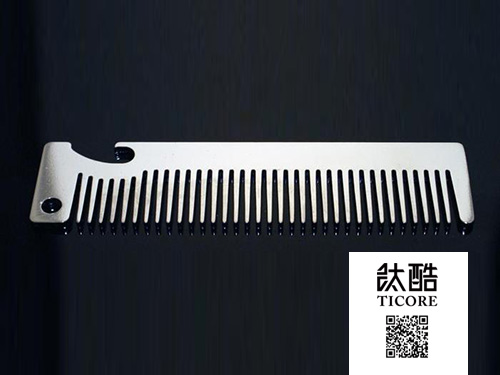 titanium alloy comb