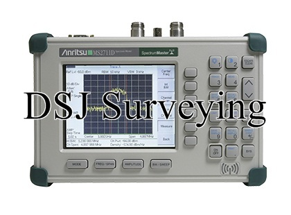 Anritsu MS2711D HandHeld Spectrum Master Analyzer