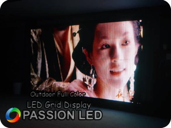 Outdoor Full Color LED Grid Display