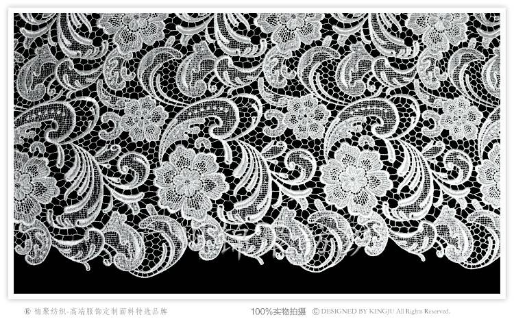 Hot Selling african cord lace fabric