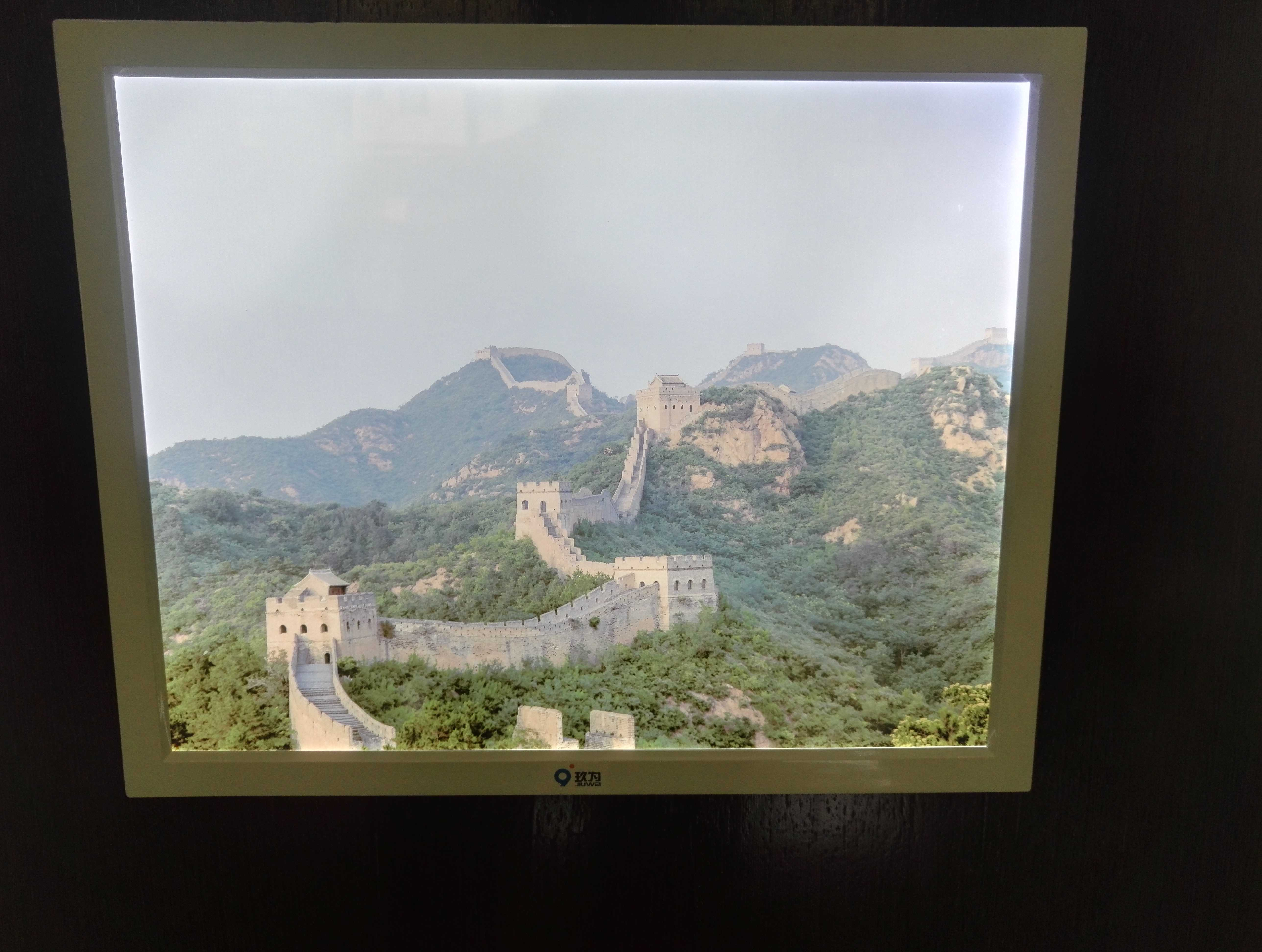 P6S LED Flat Photo Frame, With LED Battery, With Sound Control