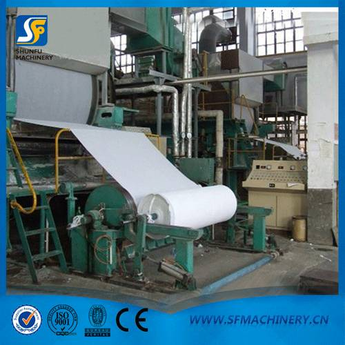 Paper Making Factory Technical Supporting Tissue paper machine cost with 787mm