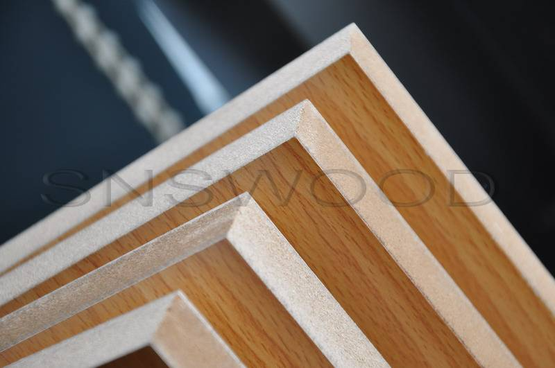 One Faced White Melamine MDF Board, 1830275016mmOne Faced White Melamine MDF Board