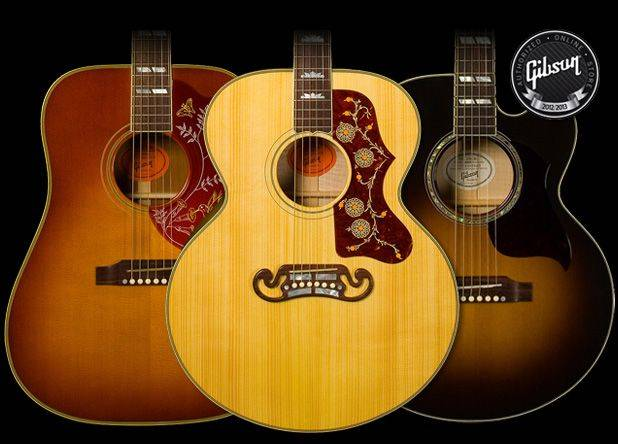 Gibson Limited Edition Hummingbird Custom Acoustic Guitar (SN:10606068)
