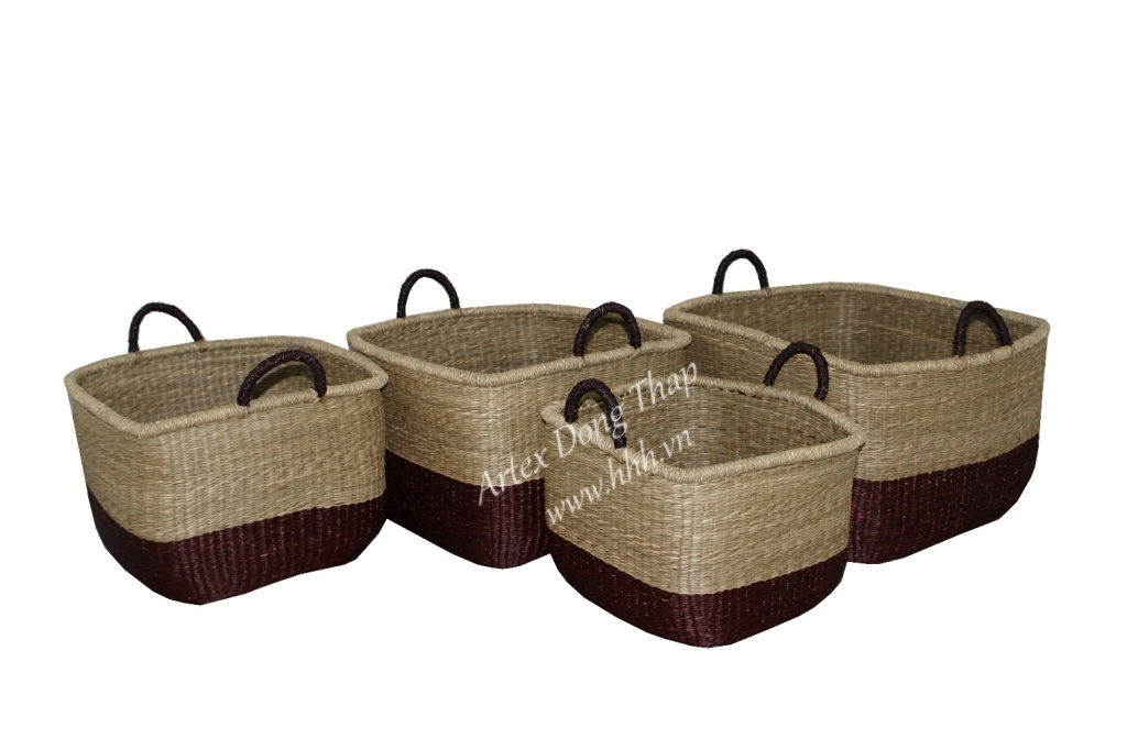 Seagrass baskets for office furniture - BH2931A-4MC