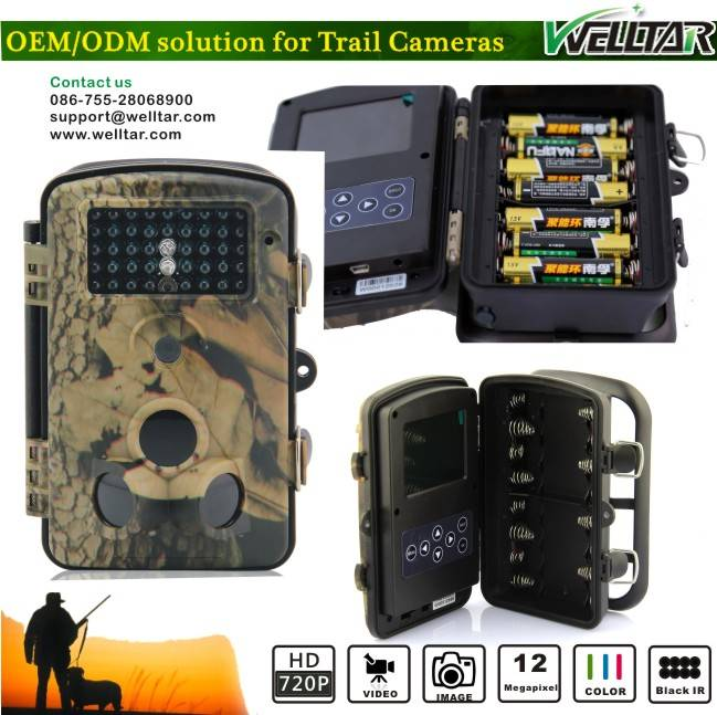 12MP High Resolution Animal Traps Camera 8210A For Hunting