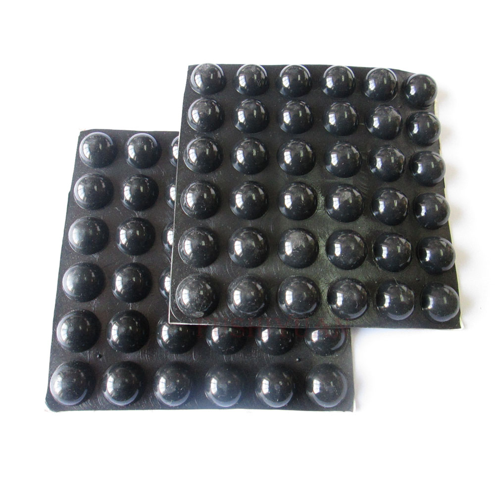 Custom made adhesive bumper silicone rubber foot sticky pad