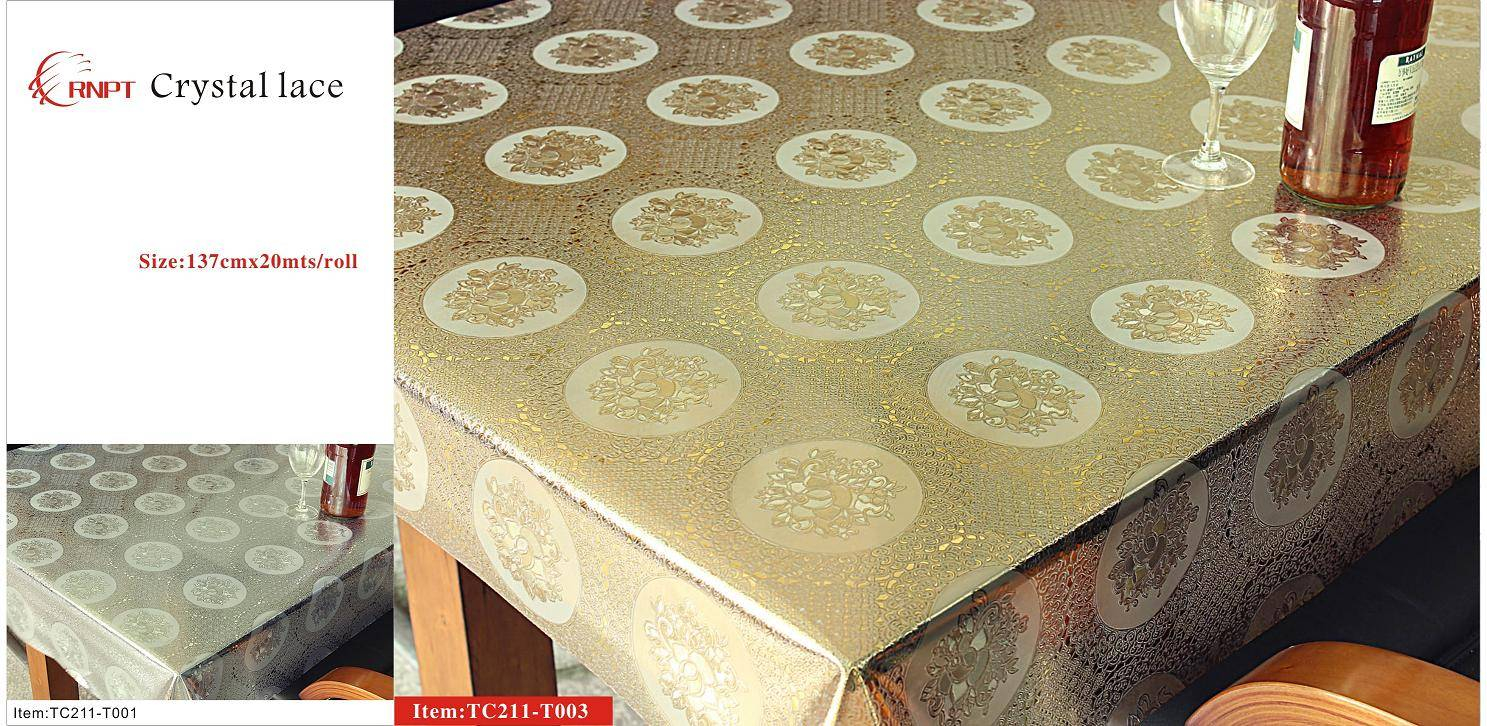 Crystal Lace Table Cloth